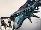 Skull Dragon Card