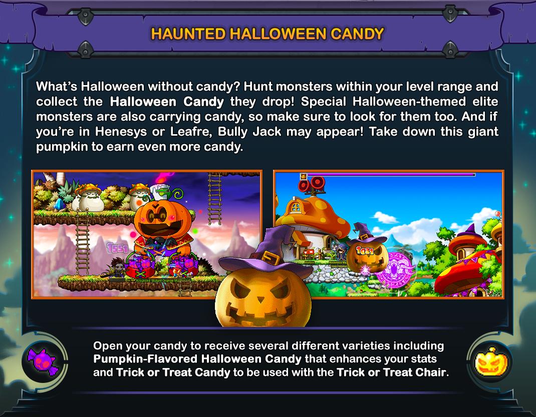 Haunted Halloween Candy