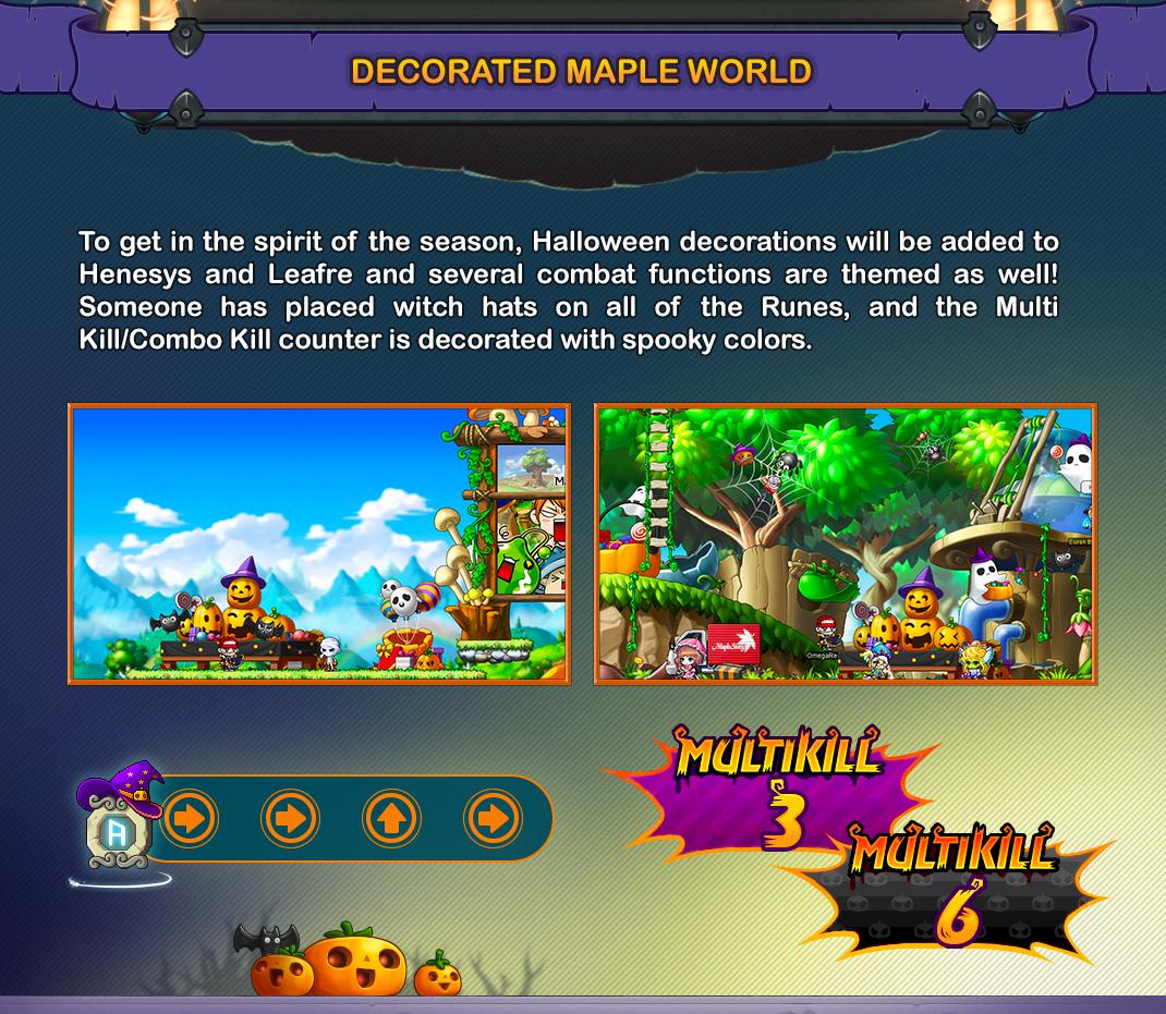 Decorated Maple World