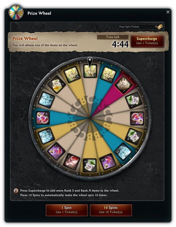Easter events and more vindictus easter prize wheel event negle Images