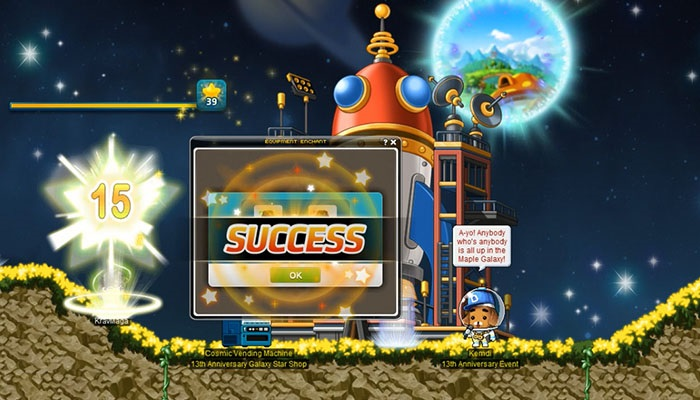 Blast Off With Anniversary Events! | MapleStory