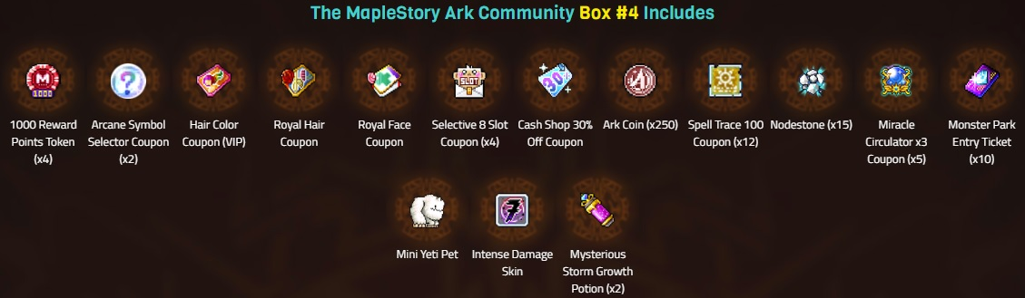 Prepare For The Ark Update With New Events Maplestory