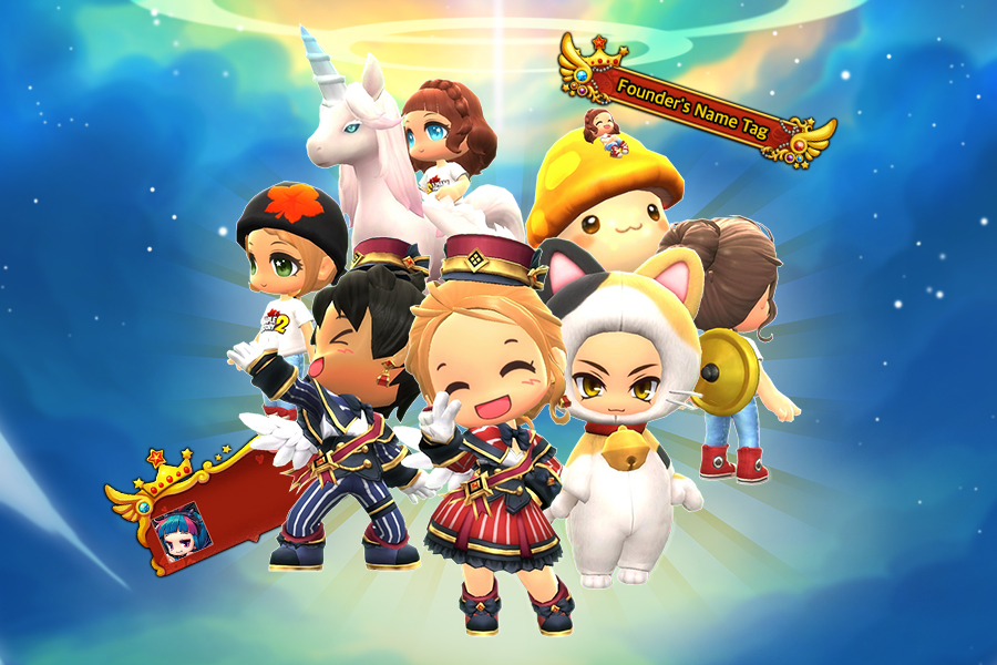 Update Founders Packs Are On Sale Official Maplestory 2 Website