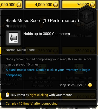GUIDE] Music Score Creation | Official MapleStory 2 Website