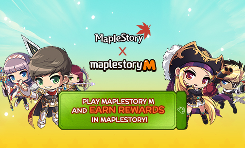 MapleStory M Crossover Events | MapleStory
