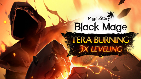 Level Up With the Tera Burning Project! 11/14 - 1/22 | MapleStory