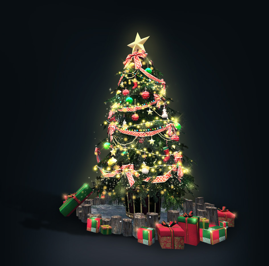 Big Beautiful Christmas Tree Event Vindictus