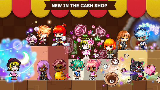 Cash Shop Update for February 13 | MapleStory