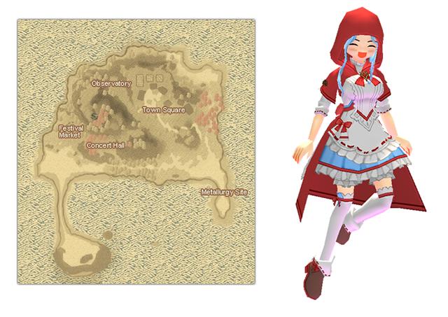 Mabinogi Doki Doki Island Map