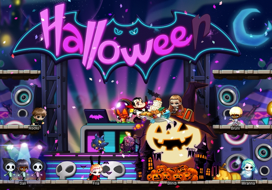 Maplestory Halloween Events 2020 Spooky Halloween Events | MapleStory