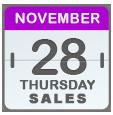Black Friday Sales for Nov28