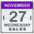 Black Friday Sales for Nov 27