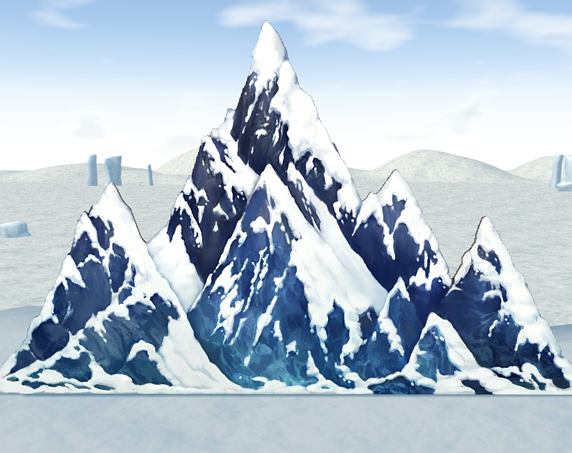Mabinogi Homestead Snow Mountain Panel, Winter Painter Event