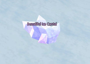 Mabinogi Beautiful Ice Crystal, Winter Painter Event