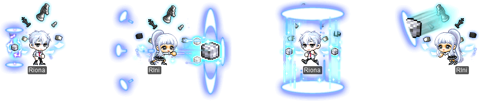 MapleStory Kinesis Outfit Packages
