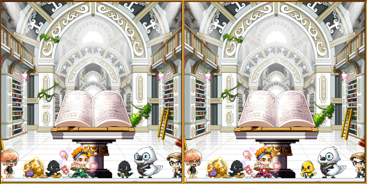 MapleStory Extravagameza 2020 Spot the Difference