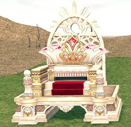 Mabinogi Homestead Sun Throne