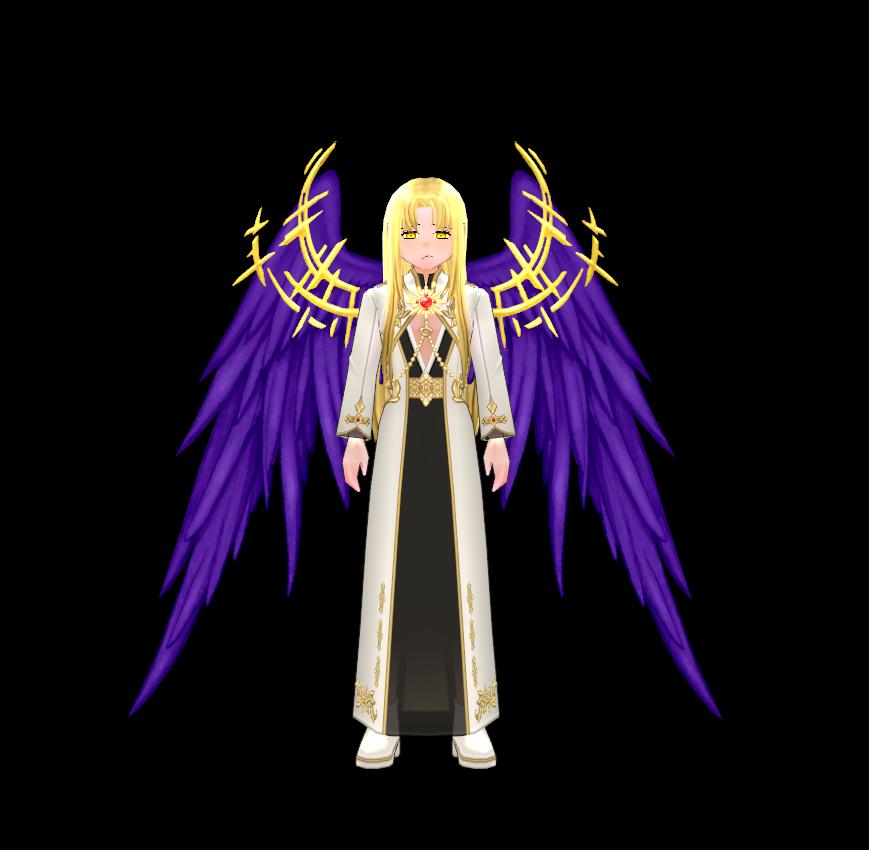 Mabinogi Brilliant Solaris Ornament Wings (Enchantable)
