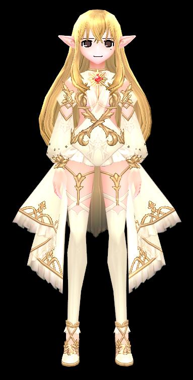 Mabinogi Solaris Dress (F)
