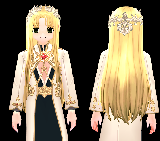 Mabinogi Solaris Wig and Hairpiece (M)