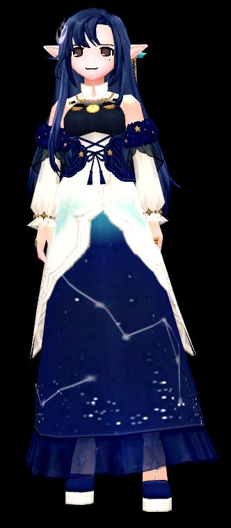 Mabinogi onstellation Guardian Dress (F)