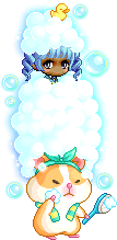 MapleStory March 11 Bubble Bubble Mount