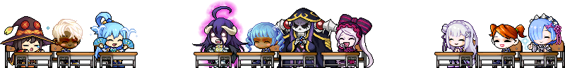 MapleStory March 11 MSxIQ Chairs