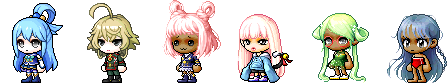 MapleStory March 25 Royal Female Hair