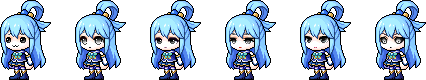 MapleStory March 25 Royal Female Faces