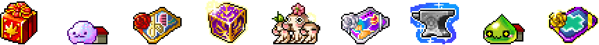 Maplestory Early Spring Surprise Bag Contents