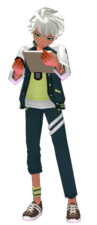 Mabinogi Royal Academy Gym Teacher Outfit Set (M)