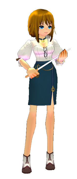 Mabinogi Royal Academy Home Ec Teacher Outfit Set (F)