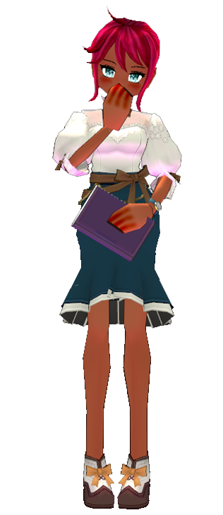 Mabinogi Royal Academy Assistant Teacher Outfit Set (F)