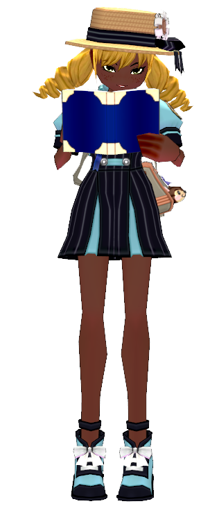 Mabinogi Royal Academy Casual Uniform Set (F)