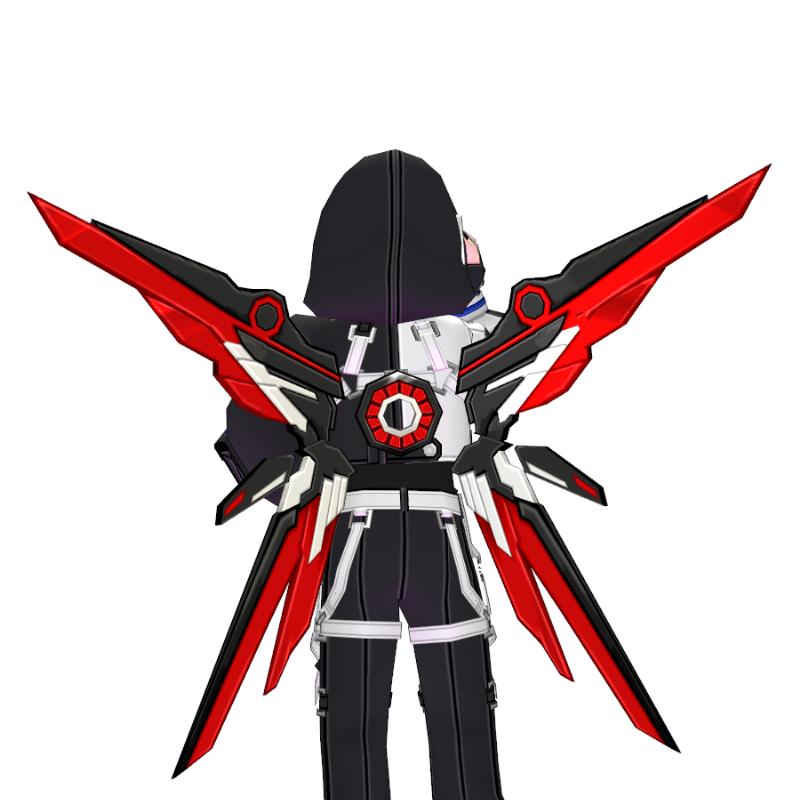 Mabinogi Abyss Tech Chic Assault Wings (Enchantable)
