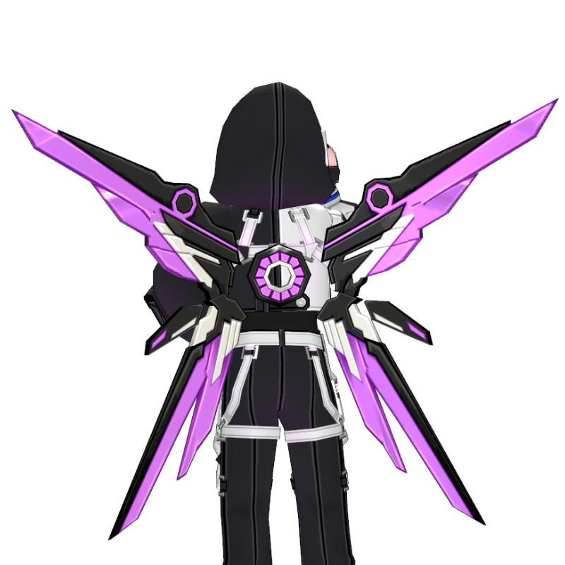 Mabinogi Flash Tech Chic Assault Wings (Enchantable)