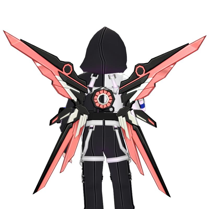 Mabinogi Phantom Tech Chic Assault Wings (Enchantable)