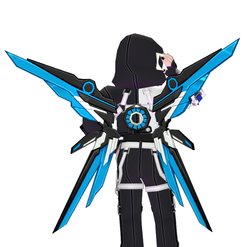 Mabinogi Storm Tech Chic Assault Wings (Enchantable)