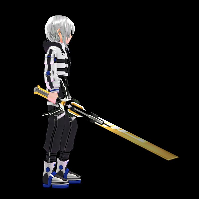 Mabinogi Tech Chic Battle Sword