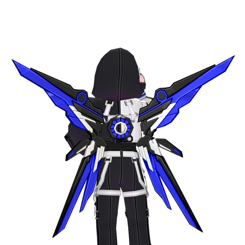 Mabinogi Tech Chic Assault Wings (Dyeable, Enchantable)