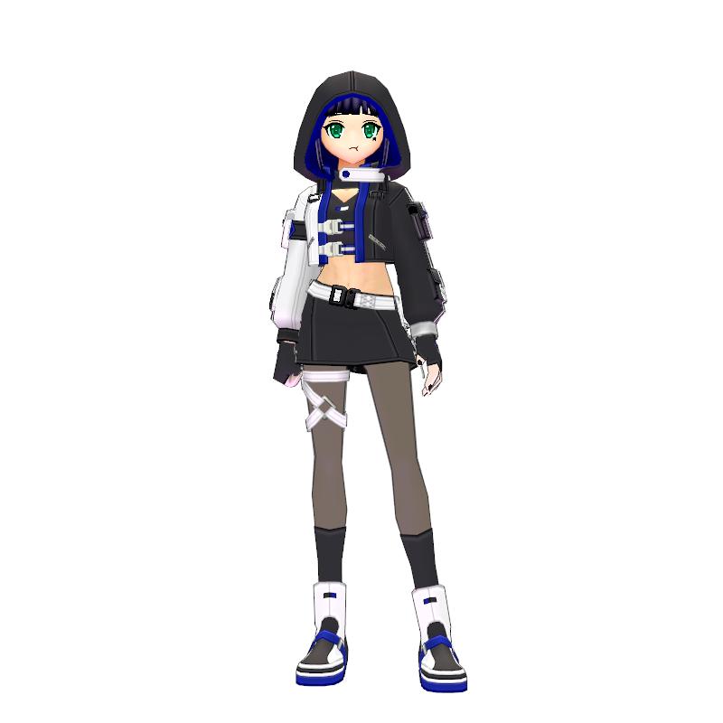 Mabinogi Tech Chic Short Suit (F)