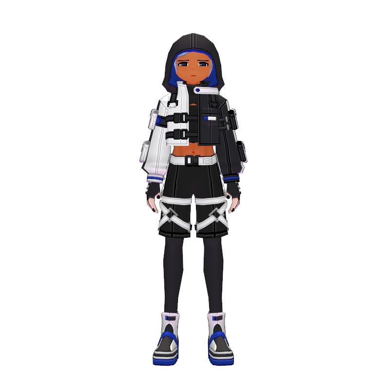 Mabinogi Tech Chic Short Suit (M)