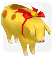 Mabinogi Golden Pig Limited Edition Pet