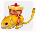 Mabinogi Golden Rat Limited Edition Pet