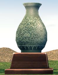 Celadon Figure (Max Damage +5, Magic Attack +5, Critical Damage 2%)