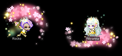 MapleStory Premium Surprise Style Box Contents: Spring Symphony Crown, Spring Symphony Tiara, Spring Symphony (M/F), Spring Symphony Shoes, Spring Sparkles, Spring-Hued Scepter