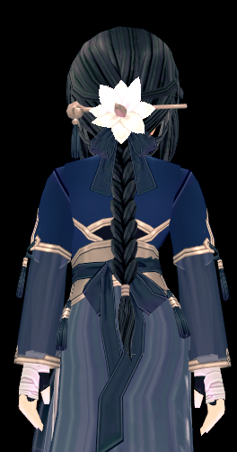 Mabinogi 12th Anniversary Classic Eastern Wig and Hairpiece