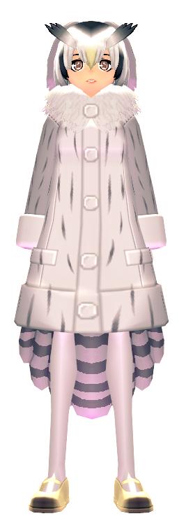 KEMONO FRIENDS X Mabinogi Northern White-Faced Owl Coat Female