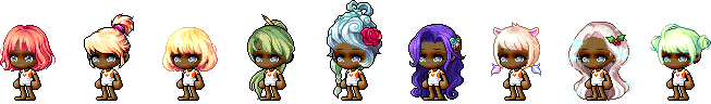 MapleStory April 1st Cash Shop Update Male April Fools Hairstyles