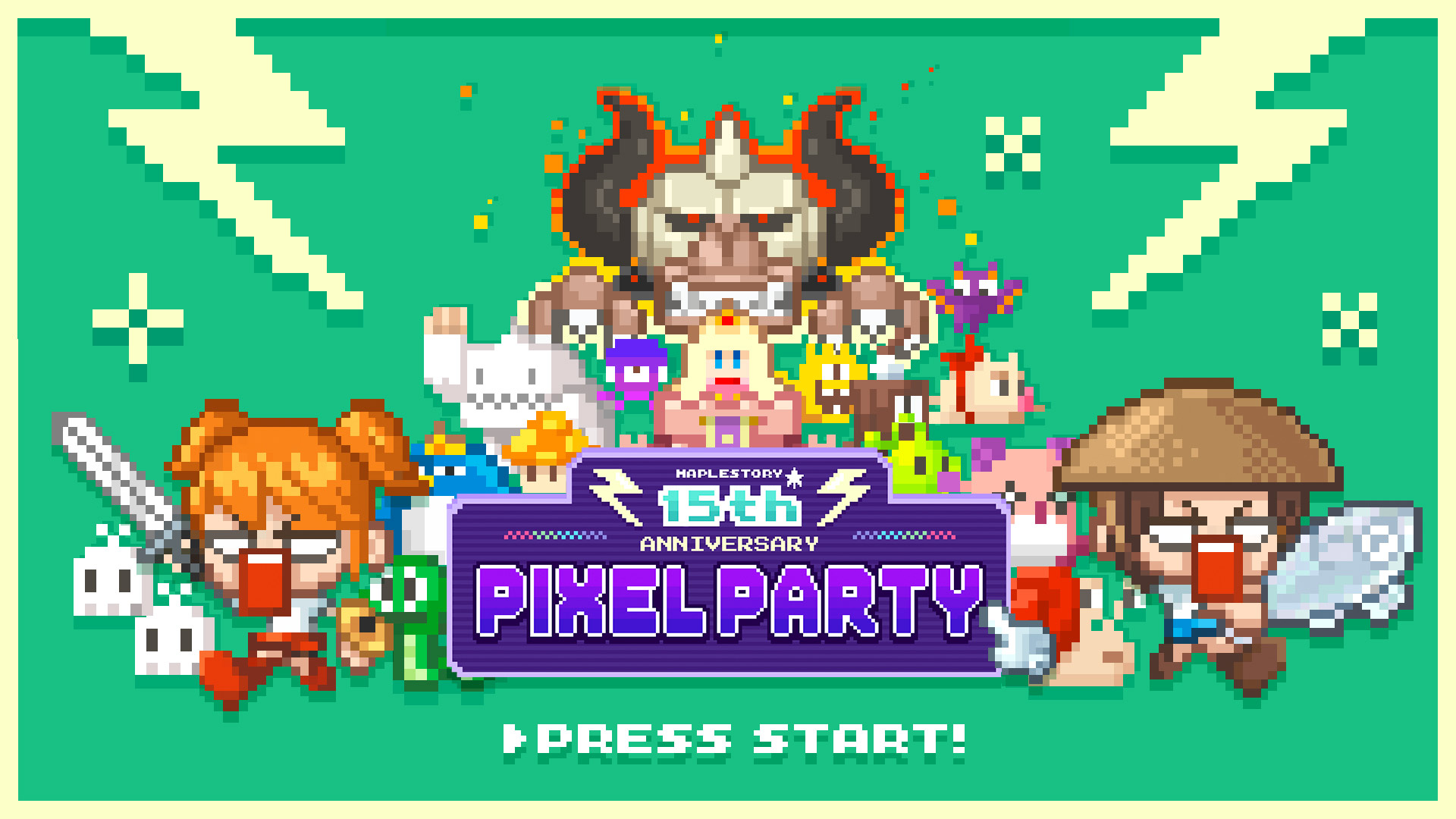 15th Anniversary Pixel Party